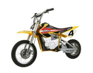 15165070 Razor 15165070 Dirt Rocket Electric Motocross Bike Red Yellow