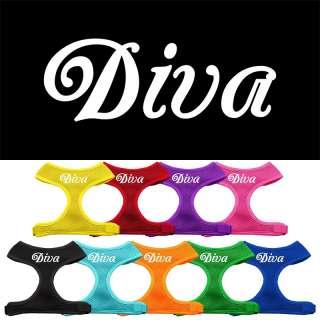Diva Design Soft Mesh Comfort Pet Dog Harness