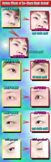 It's innovatively double sided eyelid tape (132pcs)
