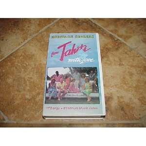 SINGERS FROM TAHITI WITH LOVE 17 SONGS VHS VIDEO Everything Else