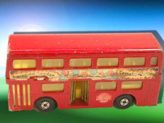 Matchbox Lesney Super King LONDONER Bus Swinging London