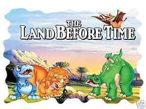 Land before time dinosaur T shirt Iron on transfer