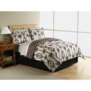 Essential Home Complete Bed Set   Abstract