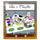 3dRose LLC Rich Diesslins Funny Out to Lunch Cartoons   Cows in a