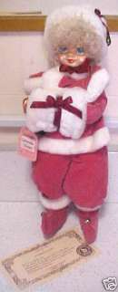 NIB 1986 Brinn Doll JANUARY CALENDAR CLOWN |