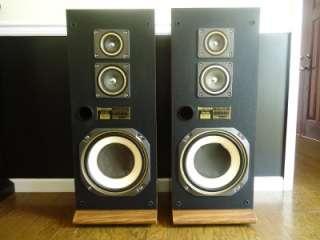 VINTAGE FISHER 3 Way Stereo System Floor Speakers Model STV 876