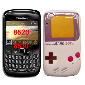 RETRO Nintendo Game Boy hard back cover case for BLACKBERRY CURVE 8520