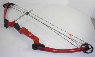 Genesis Cherry Red Right Handed Original Compound Bow Archery 10476