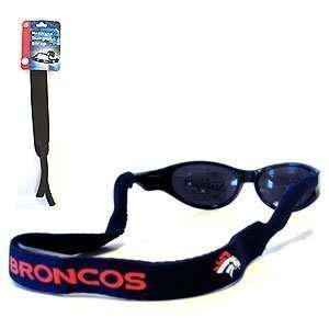 Denver Broncos Neoprene Sunglass Strap   NFL Football Fan Shop Sports