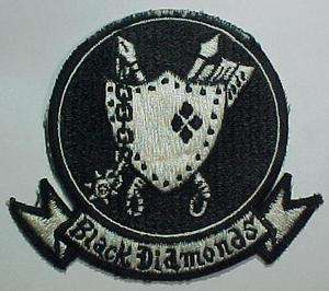 Vietnam War   VA 216 Black Diamonds A 4 Sqdn Japan Made Patch   USN