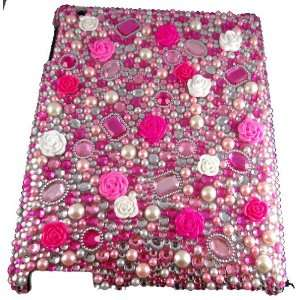 Pearls Rhinestones & Gems Bling case by Jersey Bling