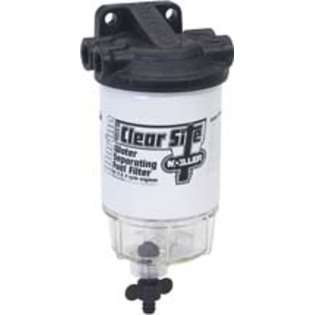 Moeller Clear Site Water Separating Fuel Filter System for outboard