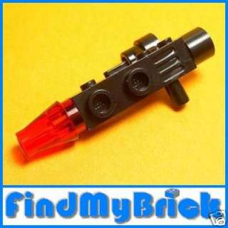 K213A Lego Star Wars Large Blaster Gun Red Laser   NEW