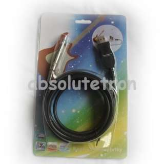 USB PC Guitar Bass Link Recording Audo Adapter Cable 3M NEW