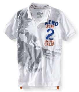 Aeropostale mens AERO SURF 2 polo shirt   Style # 2337