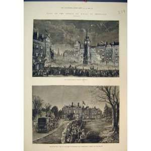Prince Wales Leicester Bradgate Hall Earl Stamford Home & Kitchen