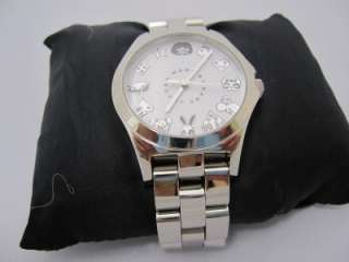 MARC JACOBS SILVER TONE S/STEEL CHARACTER WATCH MBM3061