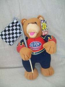 NEW TAGS SUGAR LOAF #24 JEFF GORDON NASCAR PLUSH BEAR