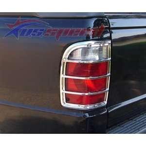 2002 2007 Ford Ranger Chrome Tail Light Covers 2PC