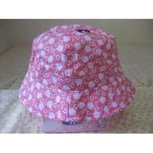 Pink Flowers Sun Hat For Junior Girls Toys & Games