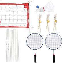 Stats Big Fun Badminton Set   Toys R Us   Toys R Us
