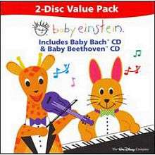 Baby Einstein Baby Bach and Baby Beethoven CD   Walt Disney Studios