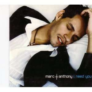 com I Need You (Card Sleeve Cd Single 2 Tracks) Marc Anthony Music