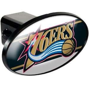 Sports NBA 76ERS Trailer Hitch Cover/Black Sports