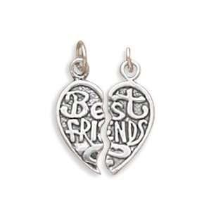 Large BreakAway Best Friends Charm CleverSilver Jewelry