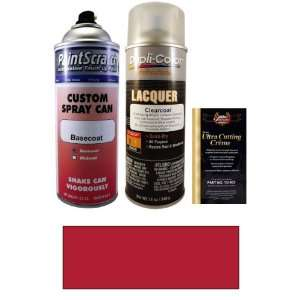 Red Pearl Metallic Spray Can Paint Kit for 2003 Volvo XC70/XC90 (454