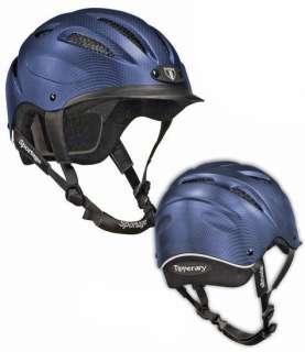 Tipperary Sportage 8500 Series Riding Helmet NAVY BLUE