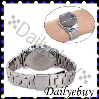 Black Annulus Cool Stainless Steel Mens Sports Watch