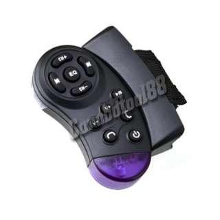 Kit Vehicle FM Transmitter  Player Steering Wheel Controller