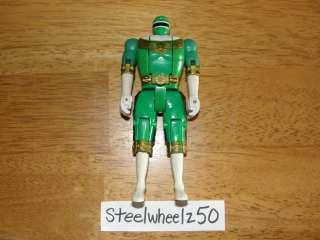 Power Rangers Zeo Green Morph Ranger Action Figure 1996 Bull NO BACK