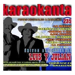 Karaokanta KAR 4235   Al Estilo de Luis y Julinn   I