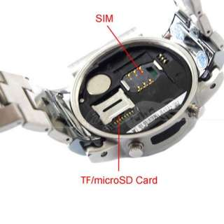 New W980 Cell Phone Wrist Watch Mobile Camera  Mp4