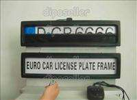 Shipping Russia Car License Plate Frame European remote control car