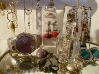 ESTATE JEWELRY LOT SIGNED TRIFARI PREMIER DESIGN ITALY + 85+