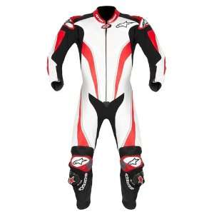 REPLICA 1 PC SUIT FOR TECH AIR SYSTEM WHITE/RED 46 EUR Automotive