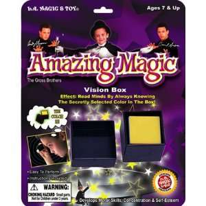 Amazing Magic VISION BOX TRICK Easy to Perform   Colors