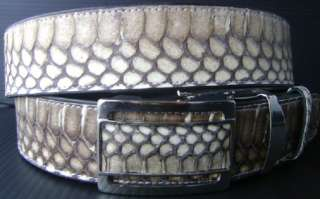 Genuine Cobra Snake Skin Mens Leather Belt All Sizes 1.5 Inches Wide