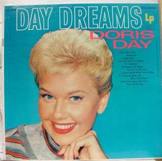 DORIS DAY day dreams LP CL 624 VG+ Vinyl Record 6 eye