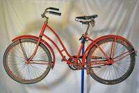 Vintage 1940s Pre War womens Balloon tire bicycle cruiser bike New
