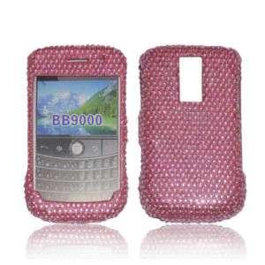 Pink RIM BlackBerry Bold 9000 Crystal Rhinestone Case