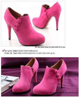 Sexy Women Platform High Heels Ankle Boots Ladies Shoes