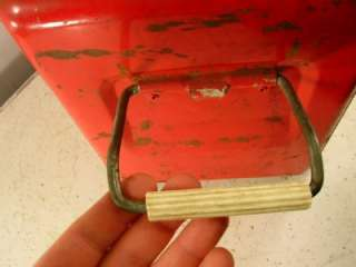 Vintage RED THERMASTER COOLER Ice Chest RETRO Condition
