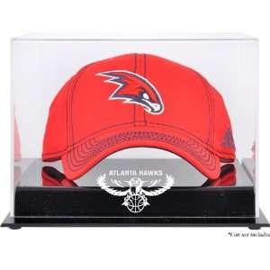 Atlanta Hawks Acrylic Cap Logo Display Case Sports