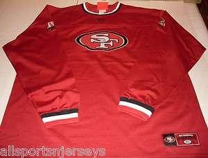 NWT NFL CREW NECK SHIRT   SAN FRANCISCO 49ERS   EXTRA LARGE