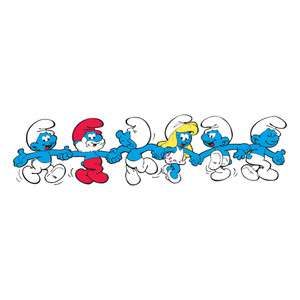 Smurfs Vinyl Die cut Decal / Sticker ** 3 Sizes **