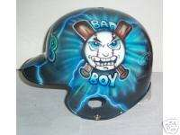 Batting Helmet AIRBRUSH NEW BAD BOY